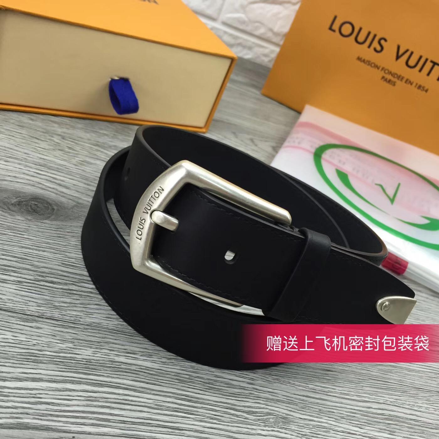 LOUIS VUITTON 腰帶 原單新品 專櫃有售 寬度3