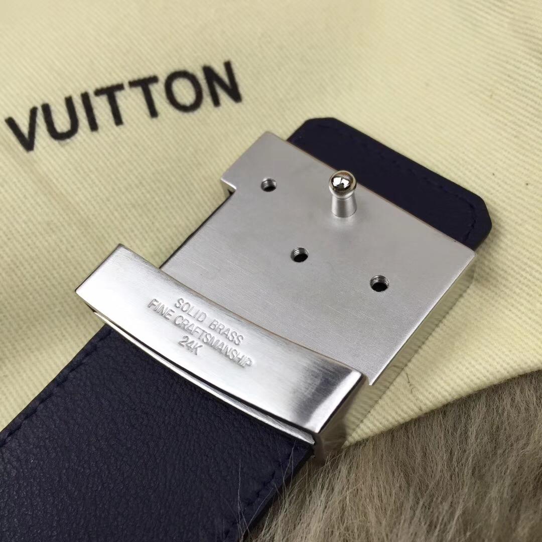 LV皮带满钻扣 奢华款 双面意大利头层牛皮,饰以雅致大方的标志性